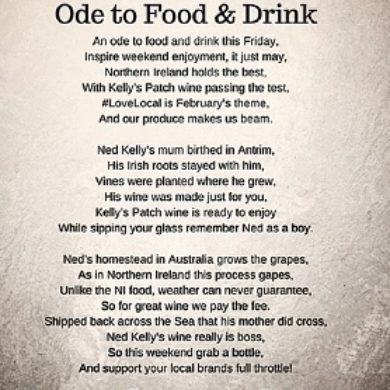 Ode to Food and Drink